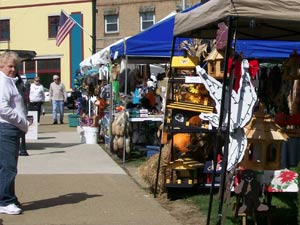 Vendors at Saint Marys Bavarian Fall Fest 2014
